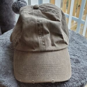 Accessories - Distressed Brown Hat